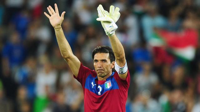 Gianluigi Buffon one of three Italy retirements but Ventura future unclear