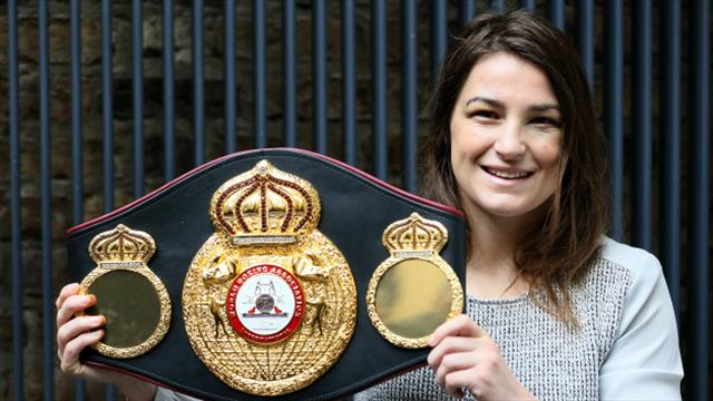 Katie Taylor to make first defence of WBA title against Jessica McCaskill