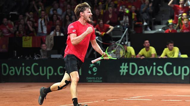 Davis-Cup-Finale: Goffin führt belgisches Quartett an
