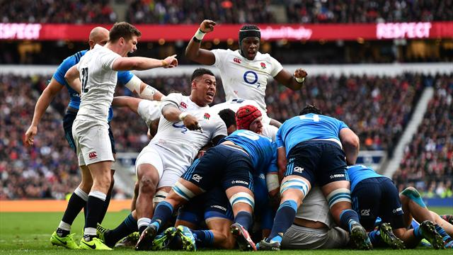 England's Farrell, Itoje retained in 25-man squad to face Australia