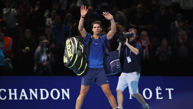 """Rückzug beim ATP-Finale: Nadal wünscht """"Frohe Weihnachten"""""""