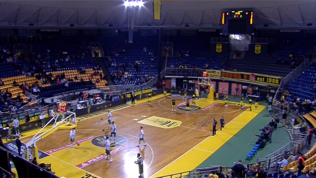 Highlights: Aris Salonicco-Sidigas Avellino 59-56