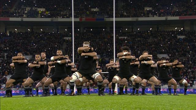 New Zealand lay down challenge to France with Haka