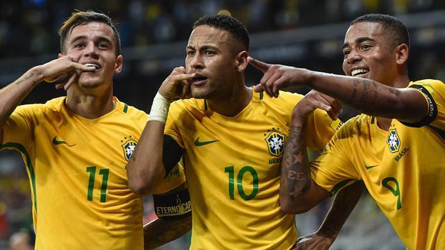 «C'est à la mode ?» Quand Neymar se moque de la coupe de cheveux de Coutinho
