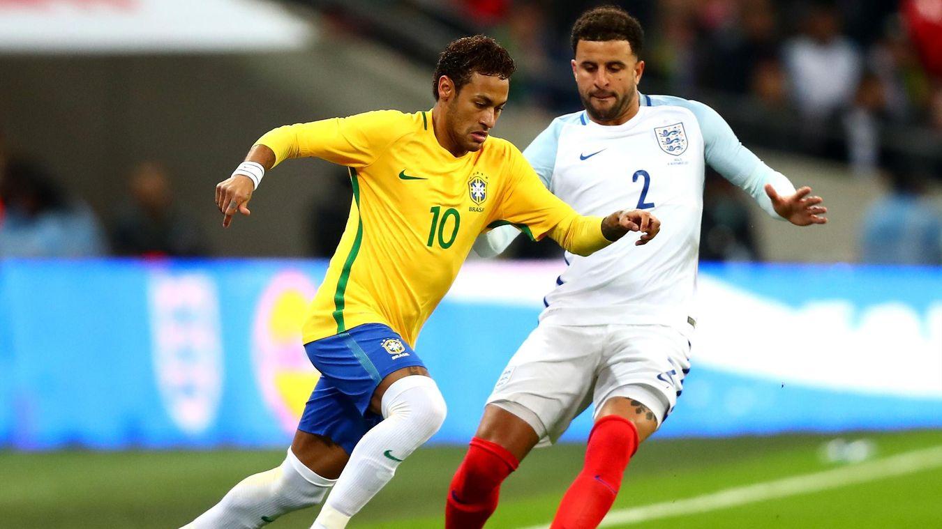 Au terme d'un match (vraiment) amical, l'Angleterre et le Brésil se neutralisent