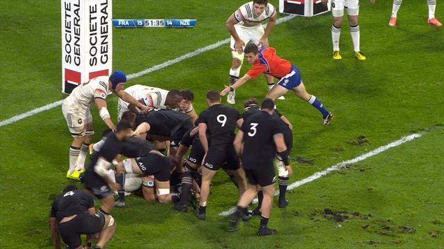 France run New Zealand close in Autumn International