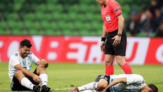 2-4. Argentina extraña a Messi y sufre un duro golpe ante Nigeria