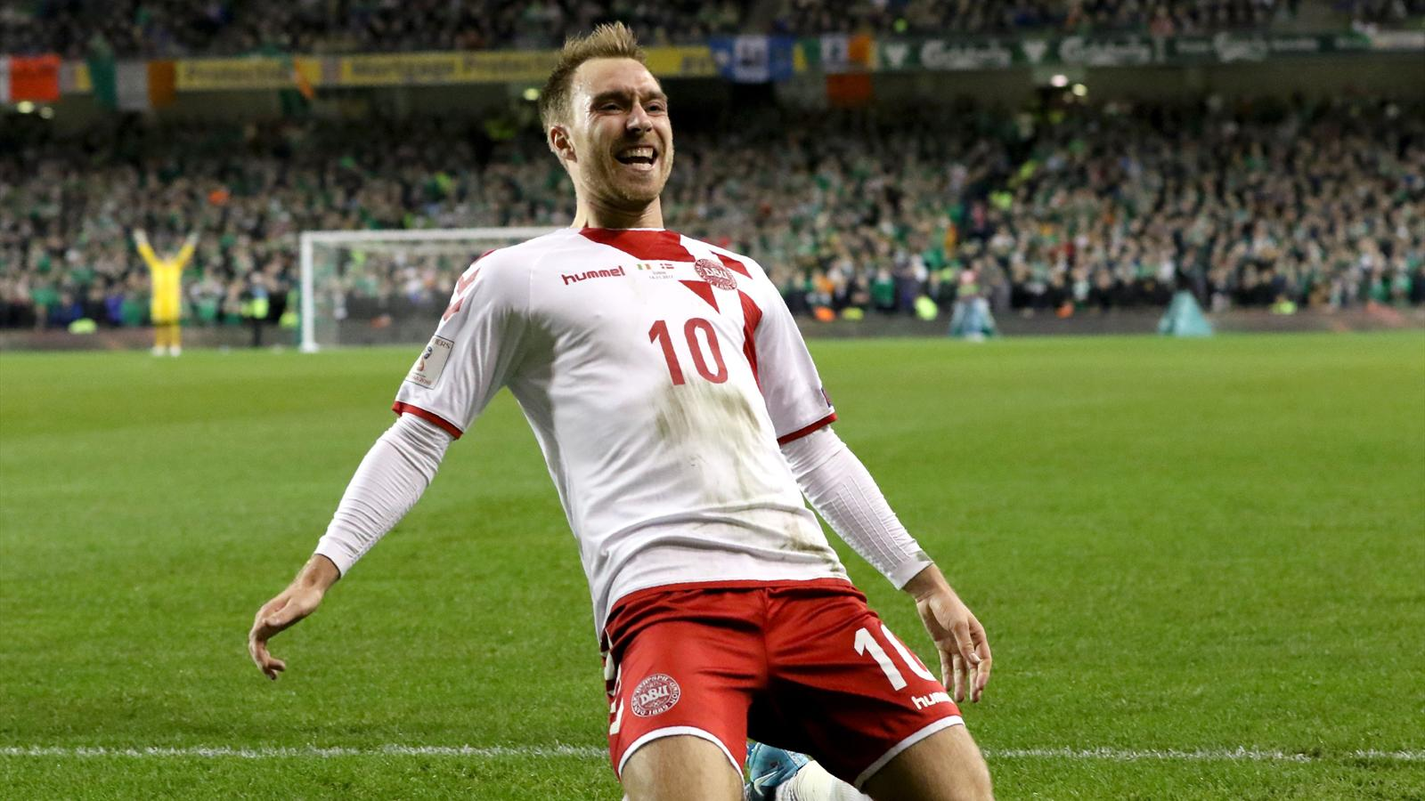 Christian Eriksen hails Denis Bergkamp influence in formative years - World Cup Qualification ...