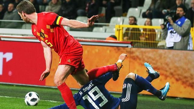 1-0. Chadli desatasca a Bélgica frente el orden nipón