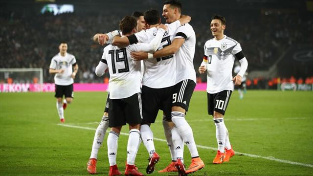 Germany's Stindl rescues late draw against France