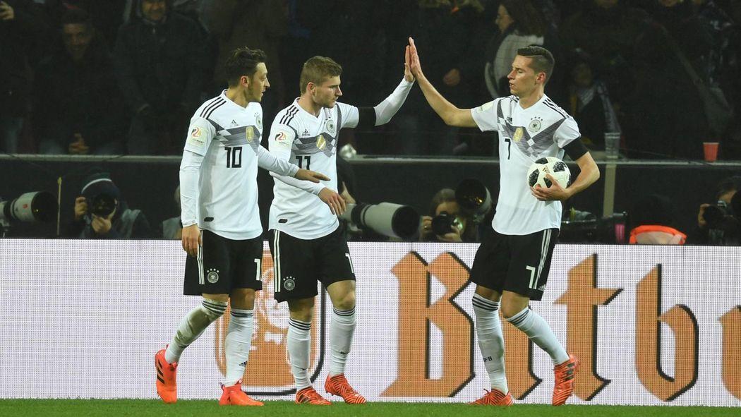 Deutschland Gegen Spanien Jetzt Live Im Tv Und Im Livestream Und