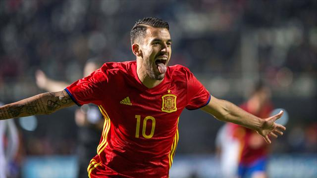 España golea a Eslovaquia con hat-trick de Ceballos y va lanzada al Europeo sub-21