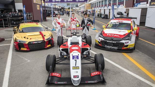 WTCC part of historic FIA triple at Macau Grand Prix