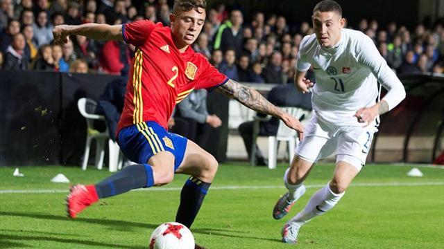 5-1. España golea a Eslovaquia con festival y tres tantos de Dani Ceballos