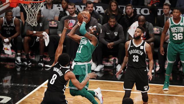 Irving concede al Celtics su décimo tercer triunfo en la NBA