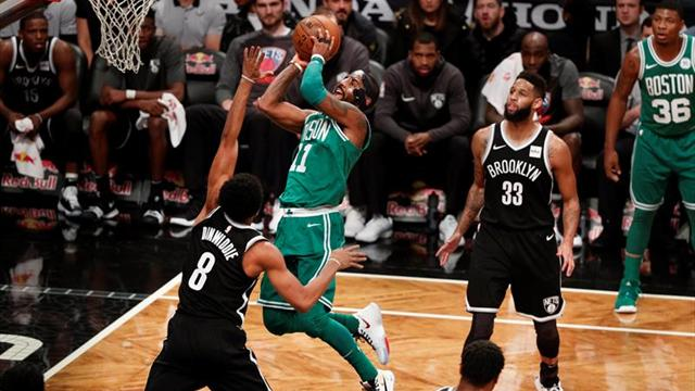 Irving sigue encendido y lidera decimotercera victoria consecutiva de los Celtics