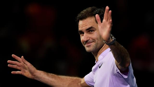 Federer downs Zverev in the battle of the generations