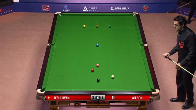 O'Sullivan thrills Shanghai with stunning highest break