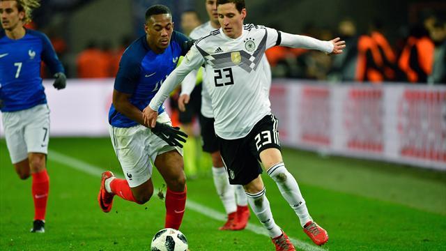 Mehr als neun Millionen sehen 2:2 gegen Frankreich in der ARD