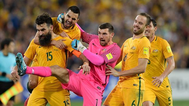 Jedinak the hat-trick hero as Australia secure World Cup berth