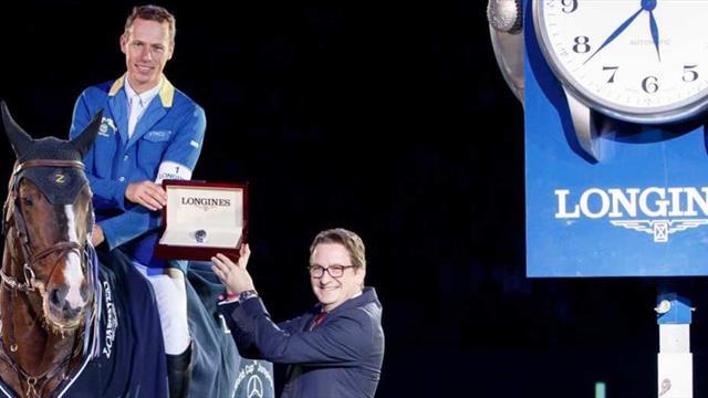 Cinquième étape de la Coupe du monde Longines de saut d'obstacles à Stuttgart