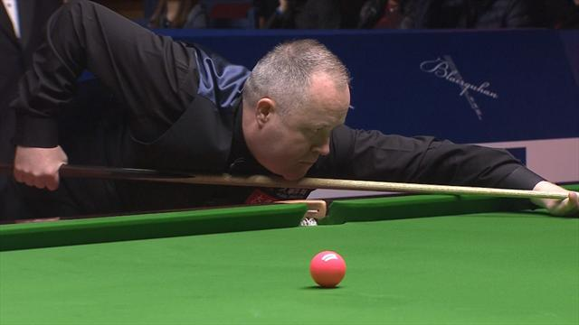 Higgins narrowly misses out on 147 break