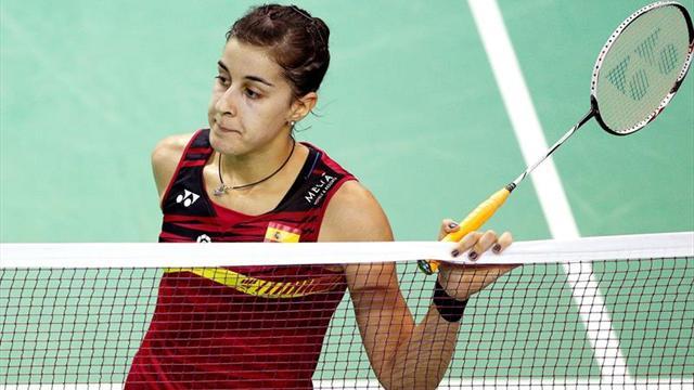 Carolina Marín no encuentra rival en la japonesa Minatsu Mitani