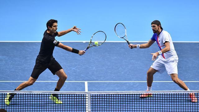 ATP-Finale: Kubot/Melo als erstes Doppel im Halbfinale