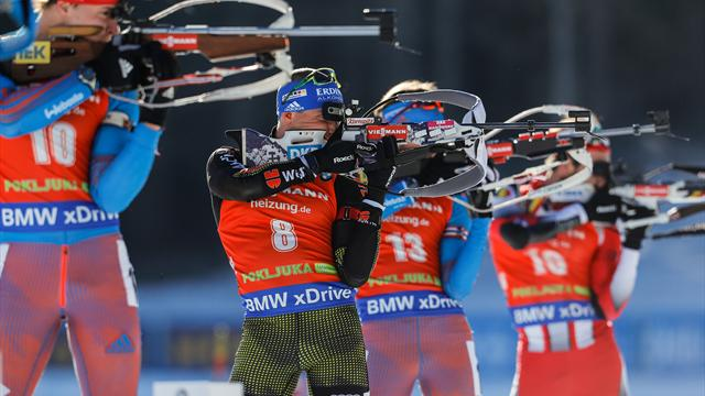Watch the Biathlon season LIVE on Eurosport Player