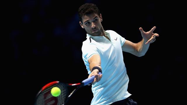 Victoria y pasaje para llegar a semifinales — Dimitrov