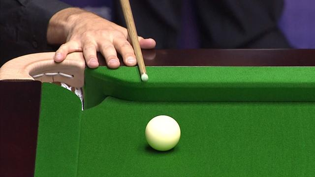 Hawkins gets incredible fluke as he plays safety against O'Sullivan