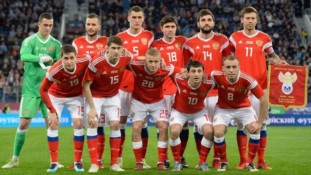 Объявлен расширенный состав сборной Российской Федерации для подготовки кЧМ