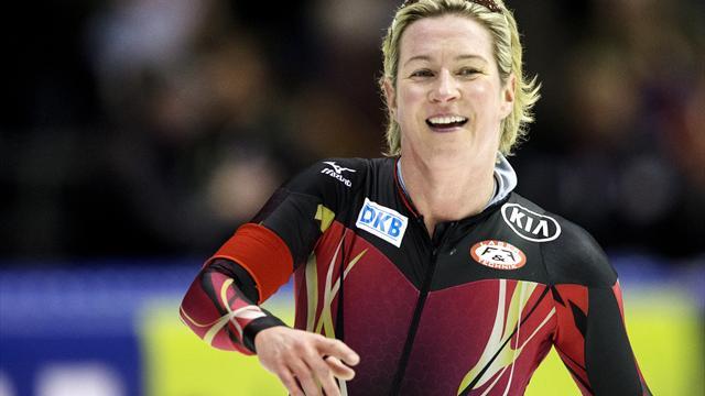 Eisschnelllauf: Pechstein und Beckert kämpfen um Olympia