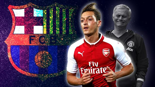 Euro Papers: Barcelona pounce for Ozil as Coutinho deal fades