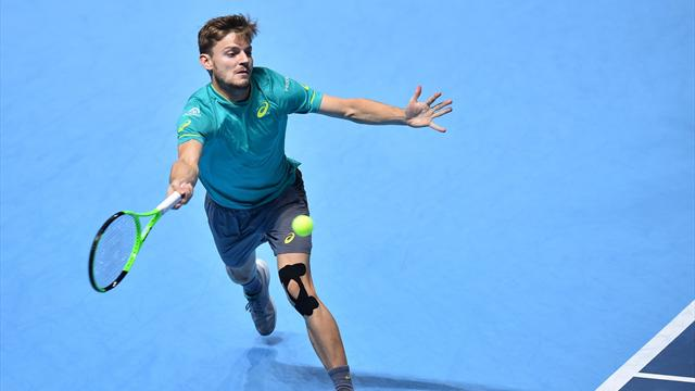 """Goffin : """"Honnêtement, je ne sais pas quoi faire contre Federer"""""""
