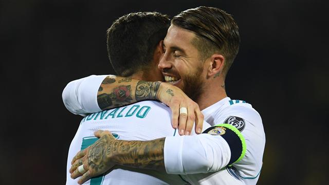 'It's already solved' - Zidane plays down rift between Ramos and Ronaldo