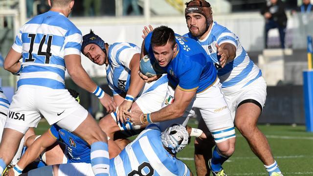 Italia-Argentina 15-31: gli highlights della partita
