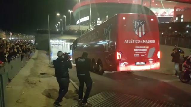 Así llegaron Atlético y Real Madrid al Wanda Metropolitano, nada que ver con el Calderón