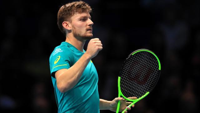 David Goffin stuns Roger Federer for career-best result — ATP Finals