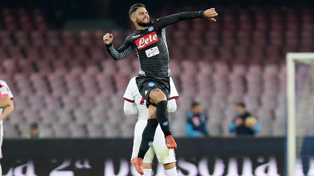 Naples maîtrise sereinement l'AC Milan
