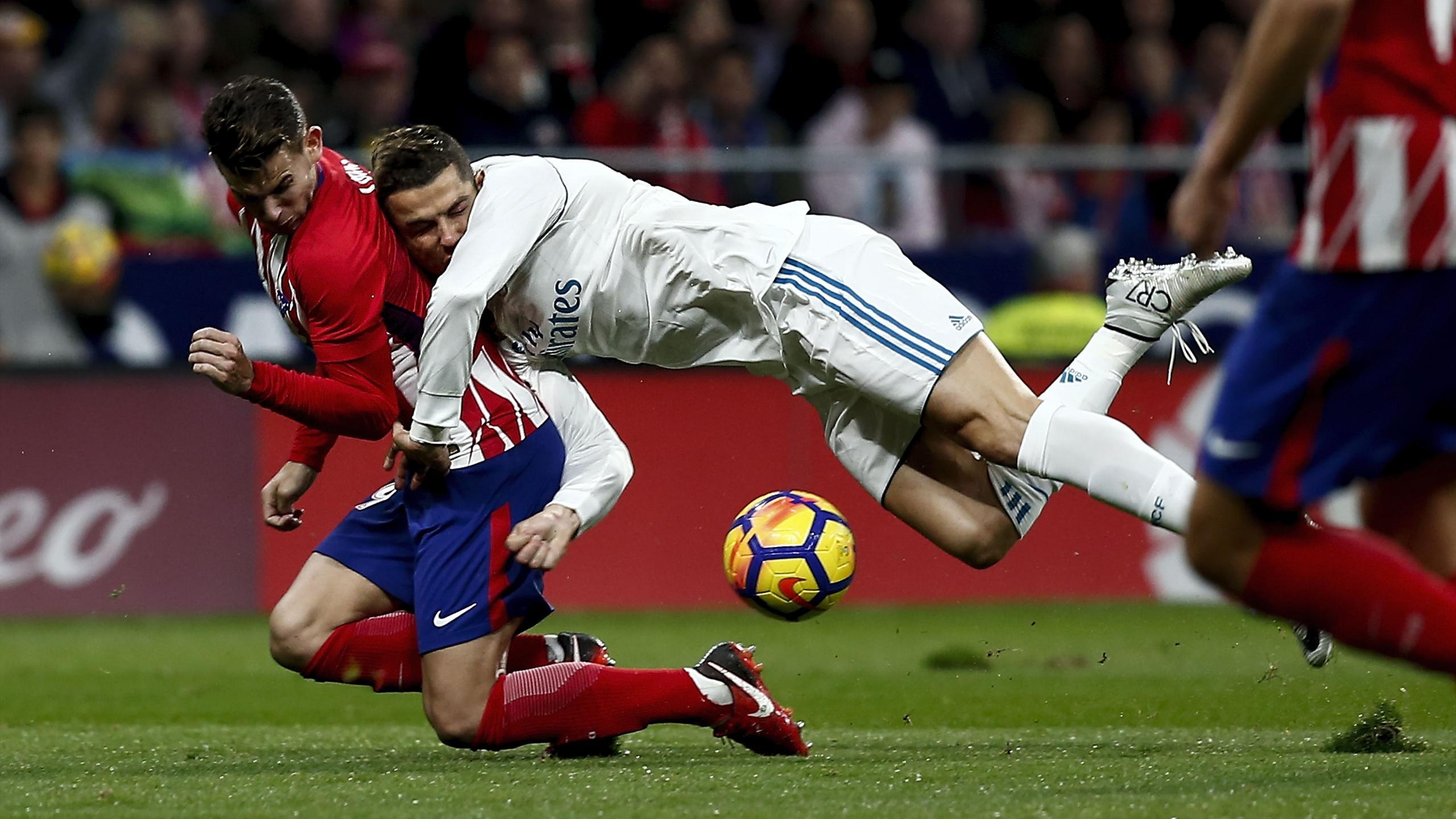 Atletico Madrid Gegen Real Madrid