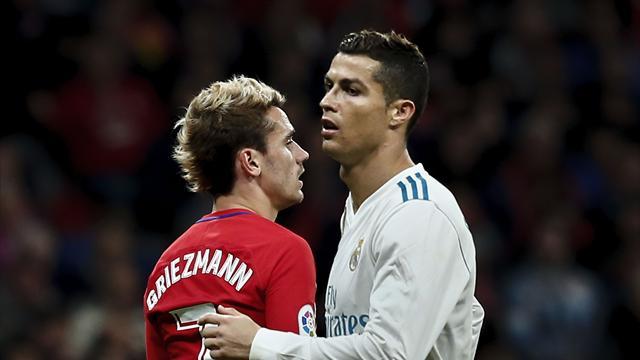 La méforme continue pour Ronaldo, Benzema et Griezmann