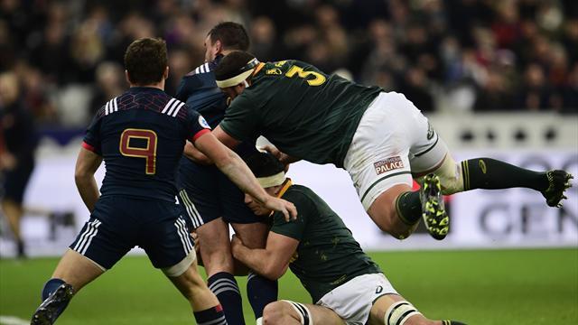 Highlights: Rugby-Klassiker Frankreich - Südafrika im Stade de France