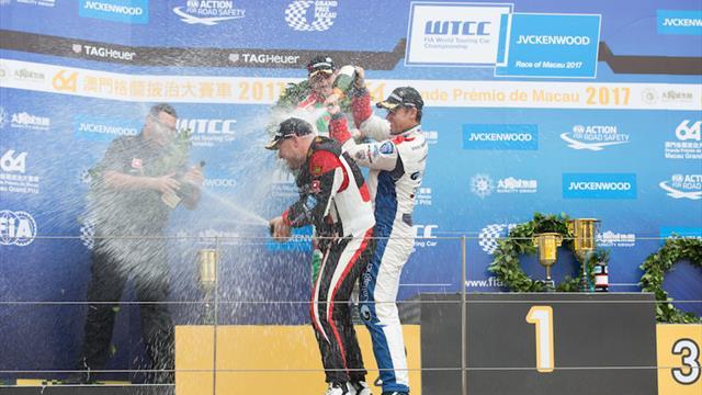 Huff makes history in Macau, Michelisz sets up Qatar title showdown