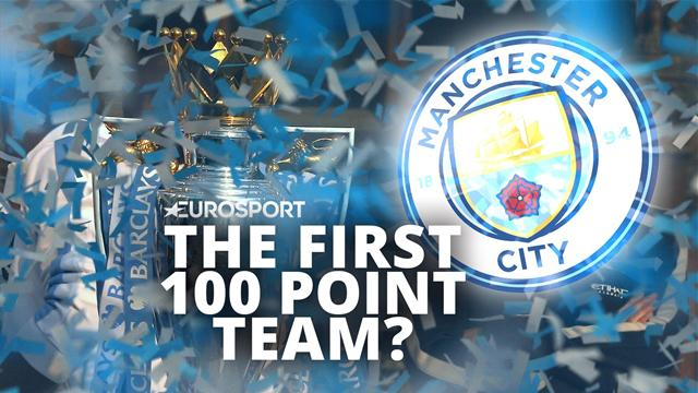 Will Manchester City break the 100-point barrier?