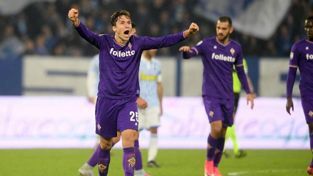f9cc20652b147 Chiesa evita l ennesimo ko alla Fiorentina  1-1 a Ferrara con la SPAL -  Serie A 2017-2018 - Calcio - Eurosport