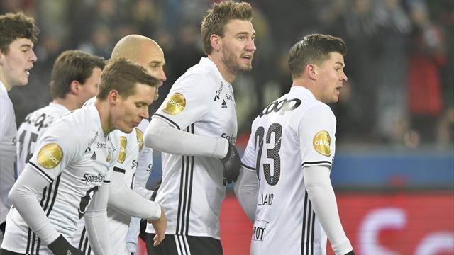 Rosenborg feiret gullet med 2-0 mot Viking