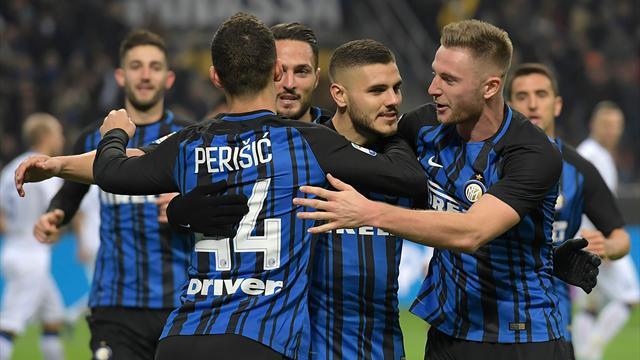 L'Inter bat l'Atalanta et souffle la deuxième place à la Juve