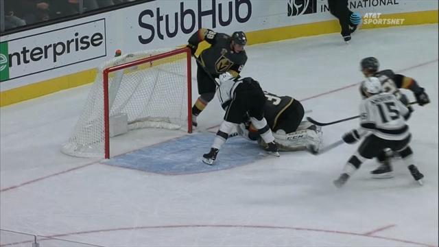 «Кингс» почти камбекнулись с 0:3, но проиграли новичкам НХЛ