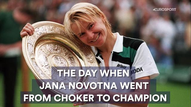 The Day When: Jana Novotna went from choker to champion